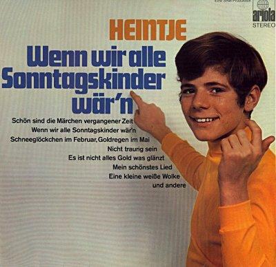 Heintje - Alle Schönen Dinge Dieser Welt